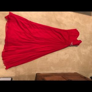 Melinda Eng Dresses - Red gown